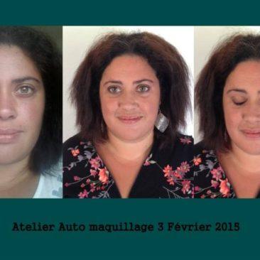 Atelier auto maquillage