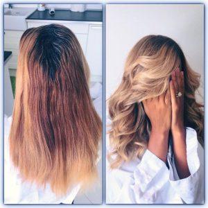 Hair contouring