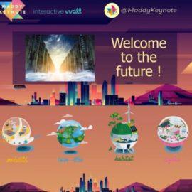 A la découverte de la Cité du Futur – Maddy Keynote